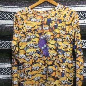 Despicable Me Movie Minions Sweatshirt Top Size L
